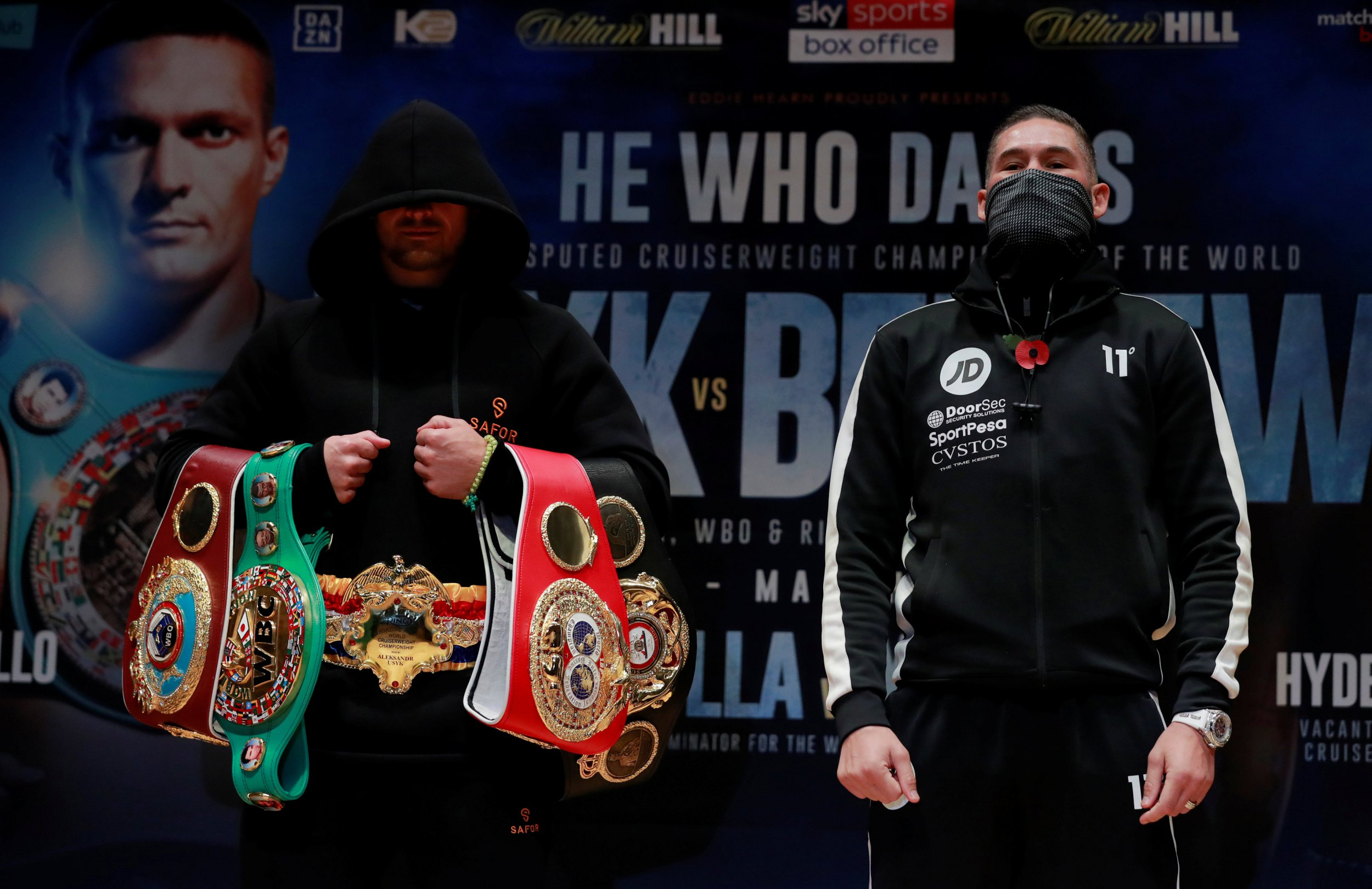 Serial underdog Tony Bellew plots one more giant killing against Oleksandr Usyk