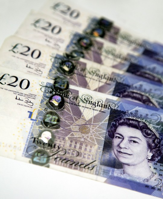 New fake £20 notes made using polymer paper and printers