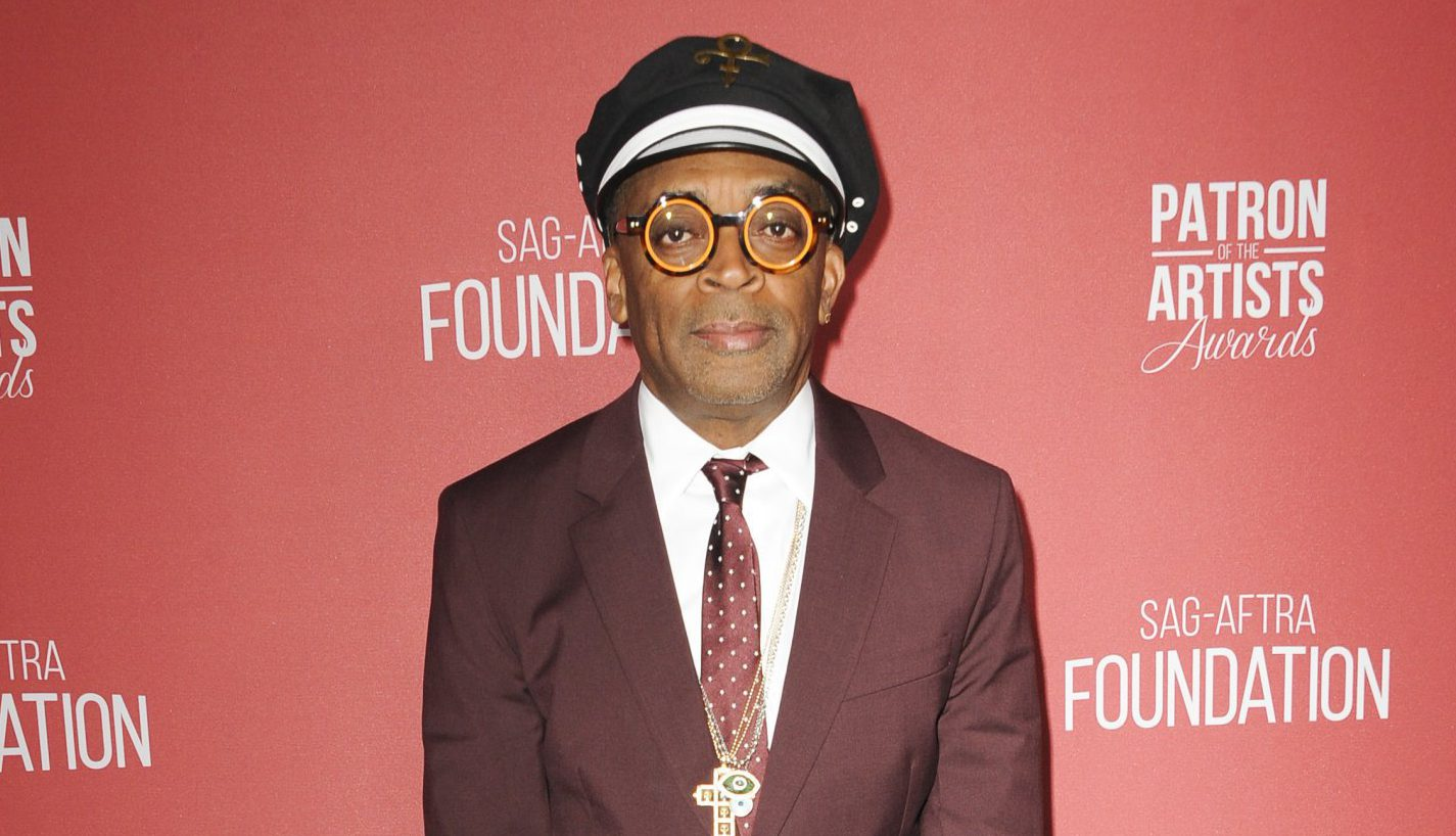 Spike Lee was sneaking into screenings of Blackkklansman to watch everyone's reaction