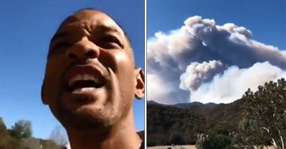 Will Smith shares terrifying extent of Californian wildfire near his $42 million home