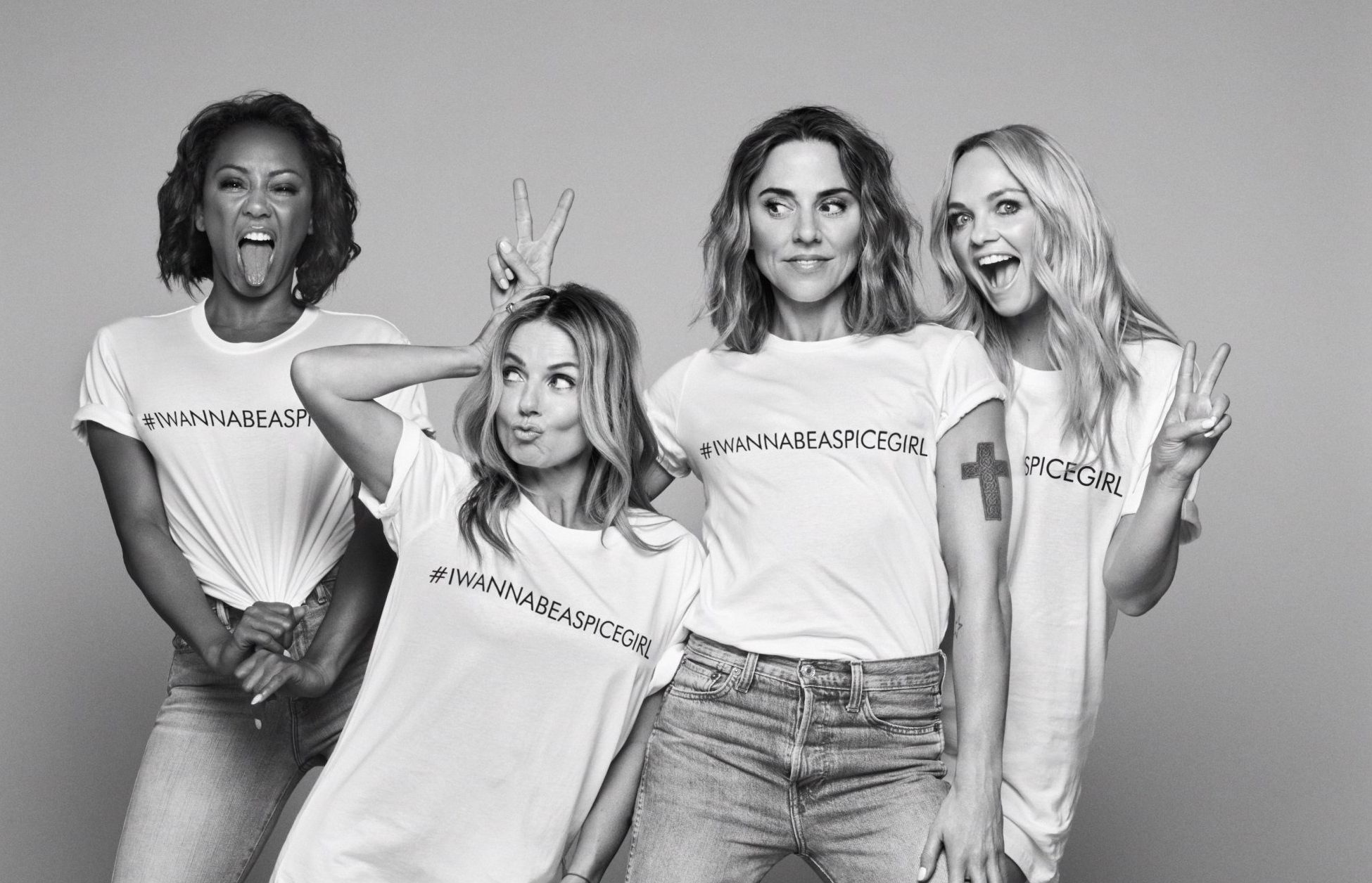 Spice Girls take girl power to the max as they support Gender Justice for Comic Relief
