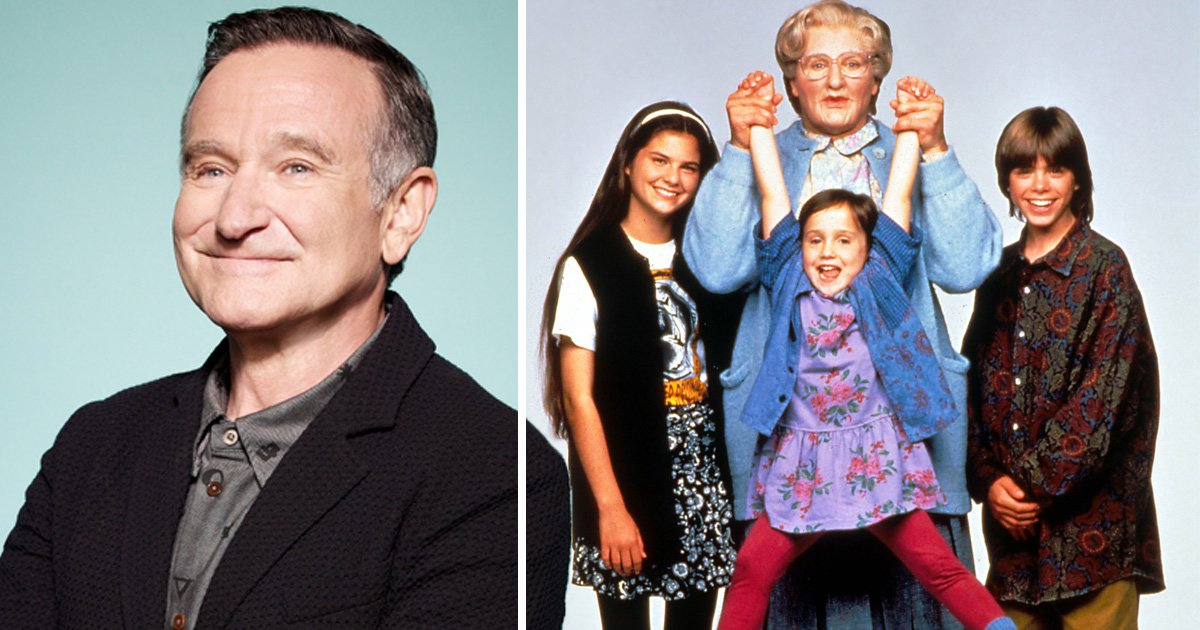 Mara Wilson reveals how Robin Williams would get her to smile on the set of Mrs Doubtfire