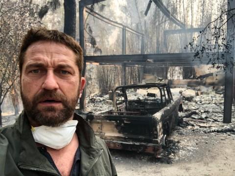 Gerard Butler left heartbroken as he loses half his home to California wildfires