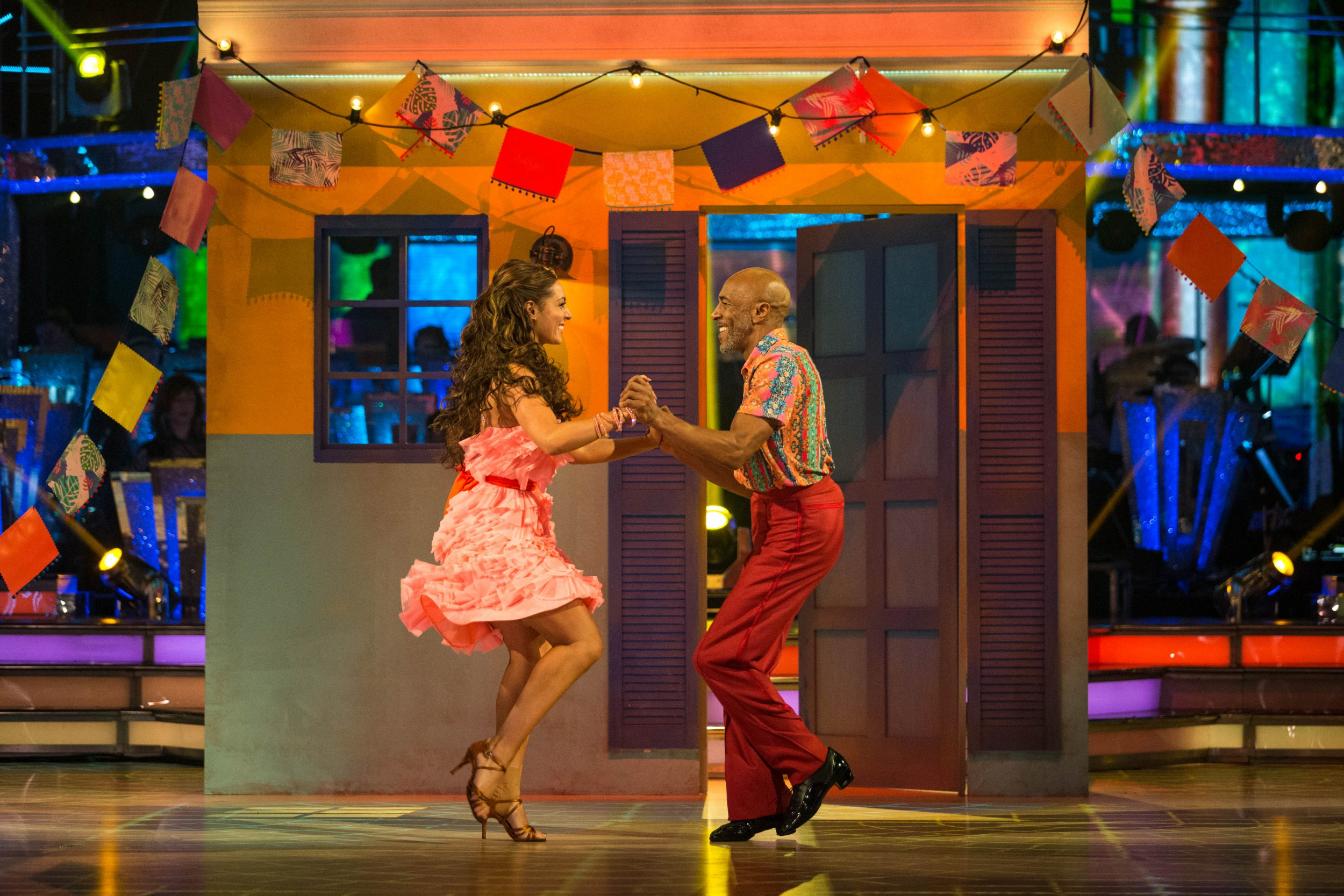 Who left Strictly Come Dancing last night ahead of Blackpool week?