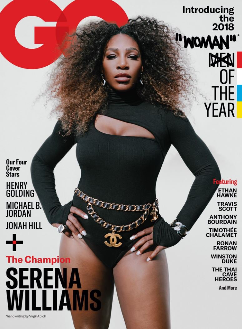 Serena Williams named GQ's woman of the year but fans are furious with the cover