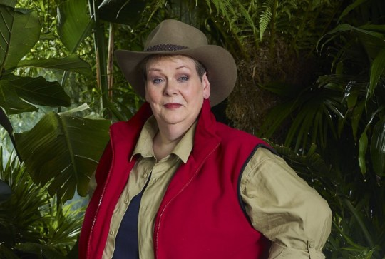 This image is strictly embargoed until 22.30 Monday 12th November 2018 From ITV Studios I'm A Celebrity... Get Me Out Of Here!: SR18 on ITV Pictured: Anne Hegerty. This photograph is (C) ITV Plc and can only be reproduced for editorial purposes directly in connection with the programme or event mentioned above, or ITV plc. Once made available by ITV plc Picture Desk, this photograph can be reproduced once only up until the transmission [TX] date and no reproduction fee will be charged. Any subsequent usage may incur a fee. This photograph must not be manipulated [excluding basic cropping] in a manner which alters the visual appearance of the person photographed deemed detrimental or inappropriate by ITV plc Picture Desk. This photograph must not be syndicated to any other company, publication or website, or permanently archived, without the express written permission of ITV Picture Desk. Full Terms and conditions are available on the website www.itv.com/presscentre/itvpictures/terms For further information please contact: james.hilder@itv.com / 0207 157 3052