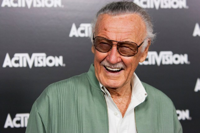 FILE PHOTO - Stan Lee arrives at the Activision E3 Preview Event in Los Angeles June 14, 2010. REUTERS/Jason Redmond/File Photo TPX IMAGES OF THE DAY