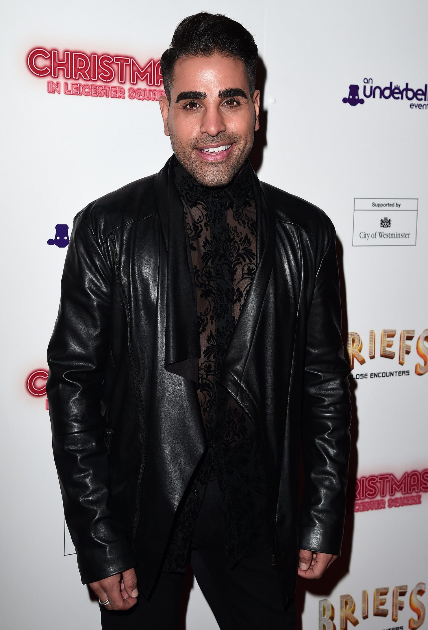 LONDON, ENGLAND - NOVEMBER 14: Doctor Raj Singh attends the opening night of 'BRIEFS: Close Encounters' at the Spiegeltent Leicester Square on November 14, 2018 in London, England. (Photo by Eamonn M. McCormack/Getty Images)