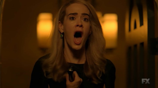 LOS ANGELES, CA ? November 14, 2018 : American Horror Story Apocalypse Season Finale After the nuclear apocalypse, the world?s chosen elite survive in secure Outposts created by the mysterious Cooperative. On the American West Coast, Ms. Wilhemina Venable (Sarah Paulson) and Ms. Miriam Mead (Kathy Bates) run Outpost Three with an iron fist. The unexpected arrival of Michael Langdon (Cody Fern), a Cooperative representative determined to save society with a secret paradise, throws their order into chaos. However, underneath the surface of humanity?s salvation lies a battlefield for the final conflict between good and evil.
