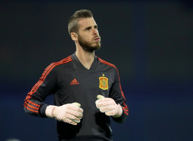 Soccer Football - UEFA Nations League - League A - Group 4 - Croatia v Spain - Stadion Maksimir, Zagreb, Croatia - November 15, 2018 Spain's David De Gea during the warm up before the match REUTERS/Marko Djurica