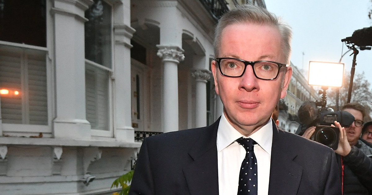 Michael Gove 'won't be quitting' over Theresa May's Brexit deal