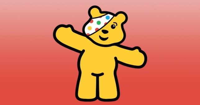 Pudsey Bear from Children In Need