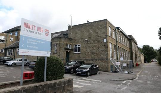 Honley High School, Huddersfield.