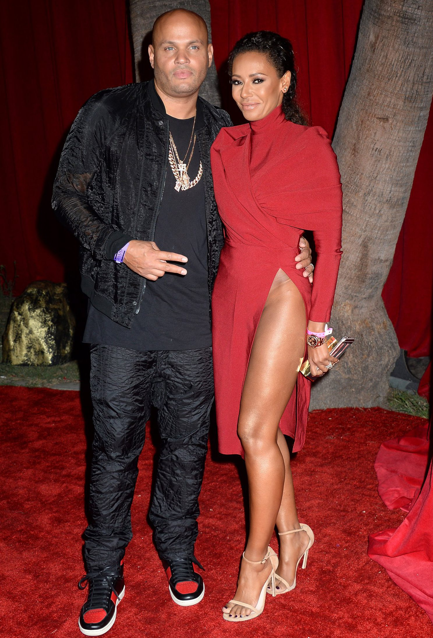 Mandatory Credit: Photo by Broadimage/REX/Shutterstock (5810064ez) Melanie Brown and husband Stephen Belafonte Maxim Hot 100 party, Los Angeles, USA - 30 Jul 2016 2016 Maxim Hot 100 party