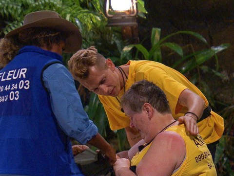 I'm A Celebrity's Anne Hegerty breaks down in tears as she considers quitting show on first day