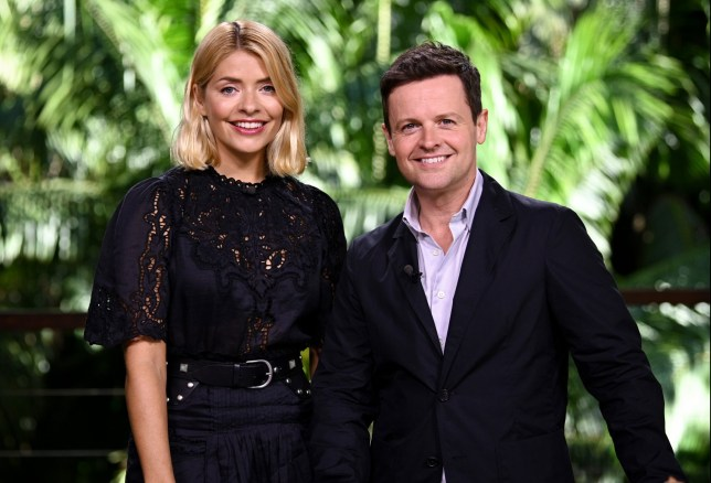 Mandatory Credit: Photo by James Gourley/REX/Shutterstock (9983660e) Holly Willoughby and Declan Donnelly 'I'm a Celebrity...Get Me Out of Here!' TV Show, Series 18, Australia - 18 Nov 2018