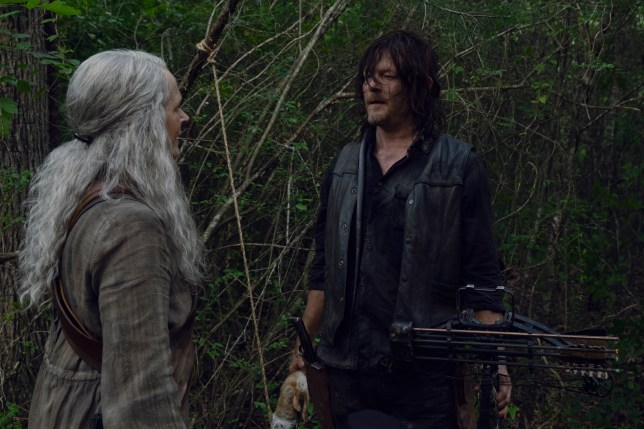 Norman Reedus as Daryl Dixon, Melissa McBride as Carol Peletier??- The Walking Dead _ Season 9, Episode 7 - Photo Credit: Gene Page/AMC