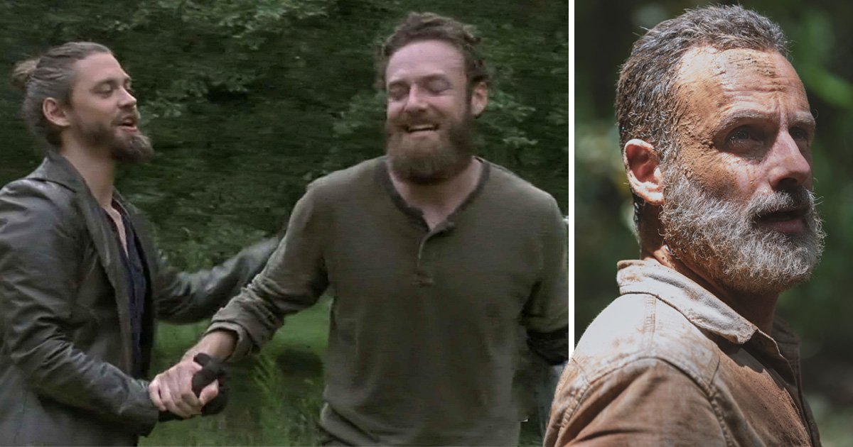 The Walking Dead showrunner teases Jesus and Aaron romance – despite actor branding storyline 'lazy'