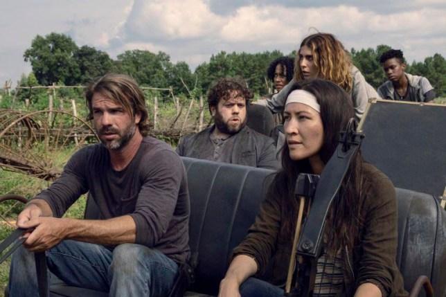 The Walking Dead mideseason finale trailer Credit: Gene Page/AMC