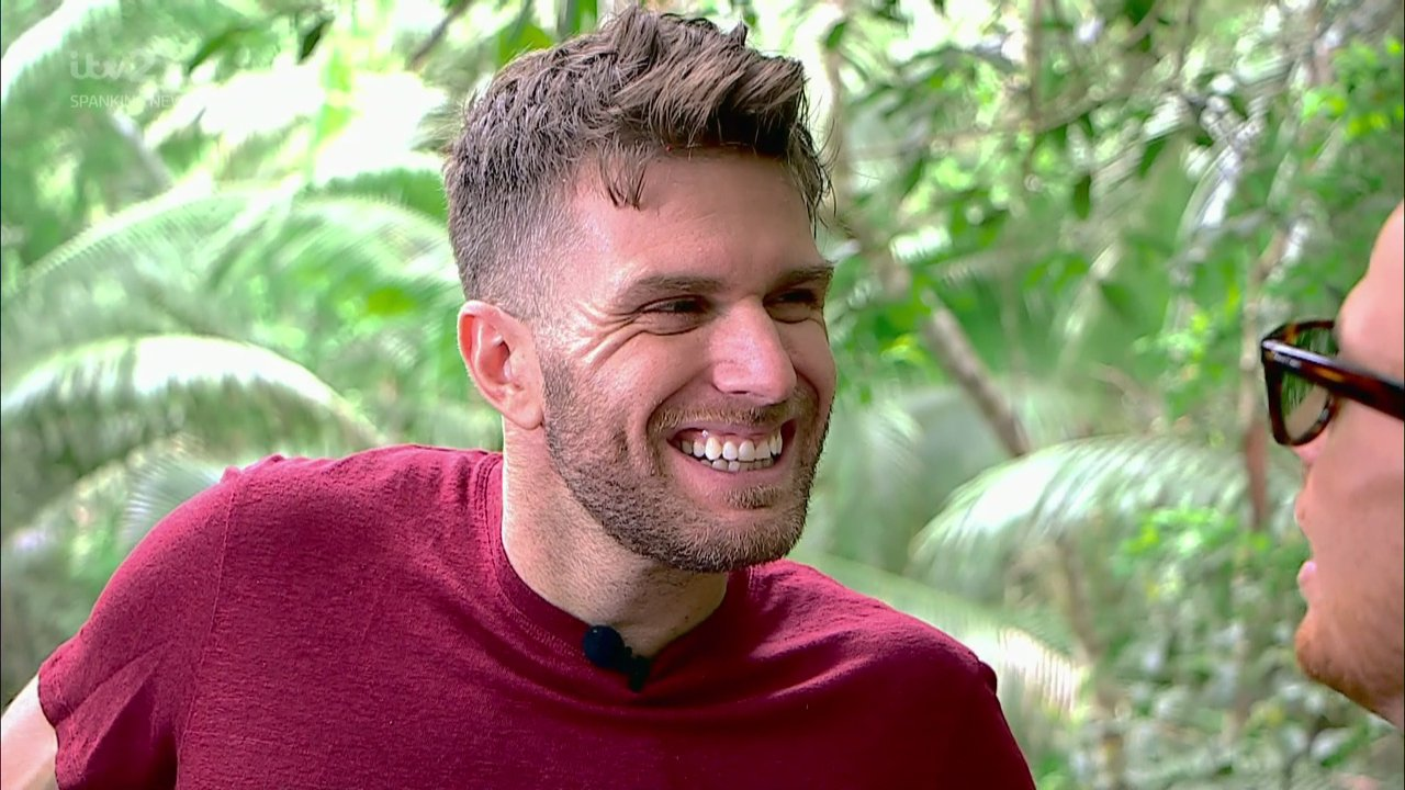 Where was Joel Dommett on Extra Camp last night and why did he go to hospital?