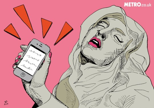 Am putting up a piece about men sending sexual whatsapp messages/insta messages/messages in gener Liberty Antonia Sadler Metro illustrations