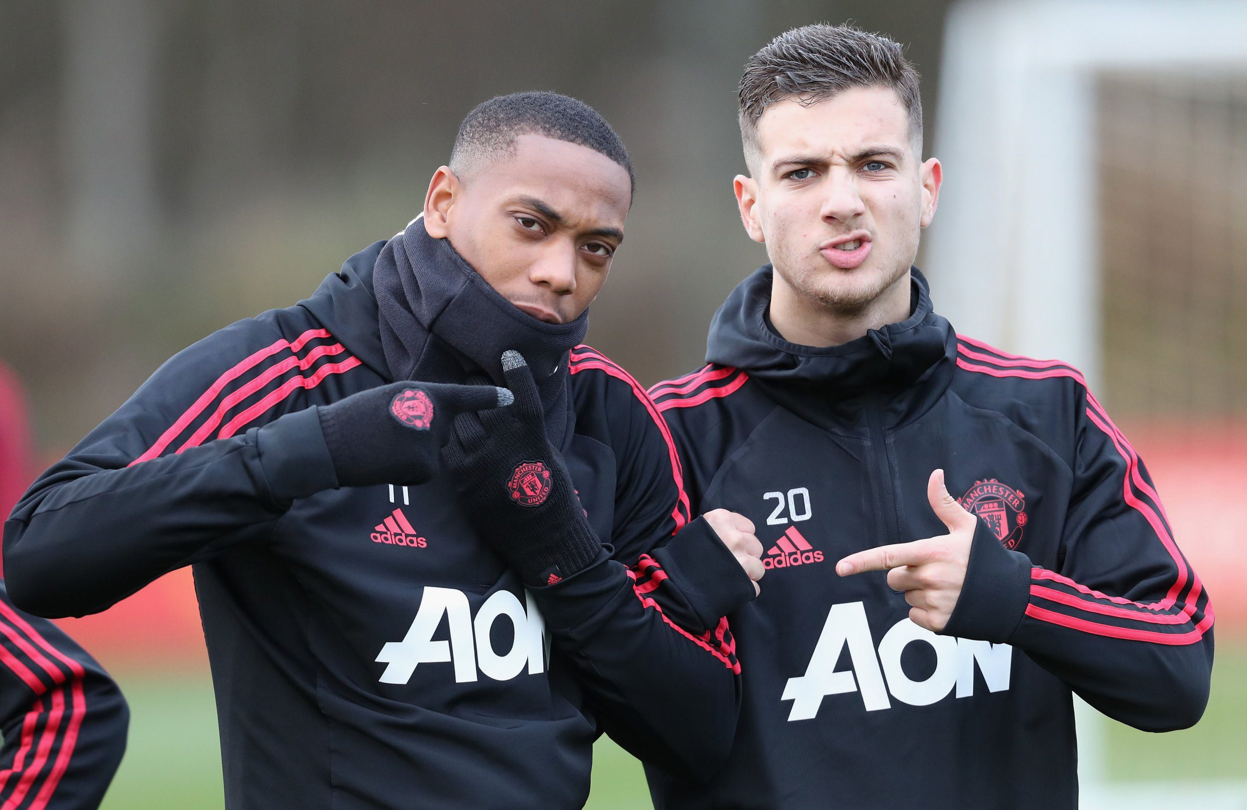 Anthony Martial hands Man Utd boost in training – but there's no sign of Paul Pogba
