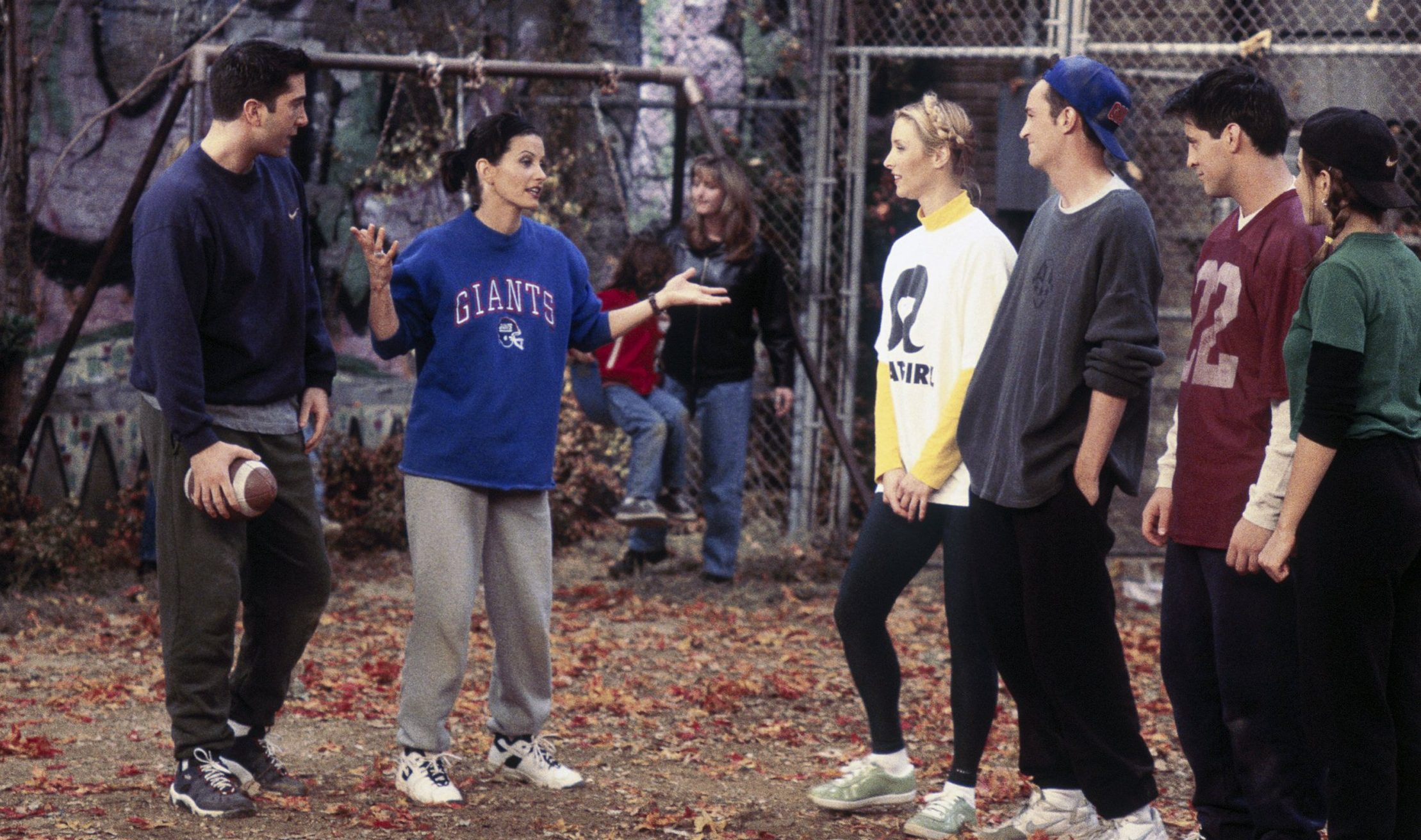 Why do we all love The One With The Football in Friends so much?