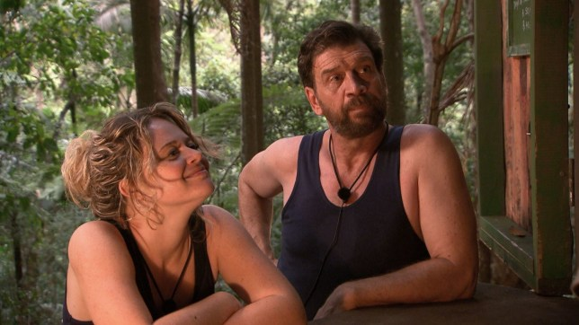 STRICT EMBARGO - NOT TO BE USED BEFORE 22:00 GMT, 21 NOV 2018 - EDITORIAL USE ONLY Mandatory Credit: Photo by ITV/REX (9989382bg) Dingo Dollar Challenge Phone Call - Emily Atack and Nick Knowles 'I'm a Celebrity... Get Me Out of Here!' TV Show, Series 18, Australia - 21 Nov 2018