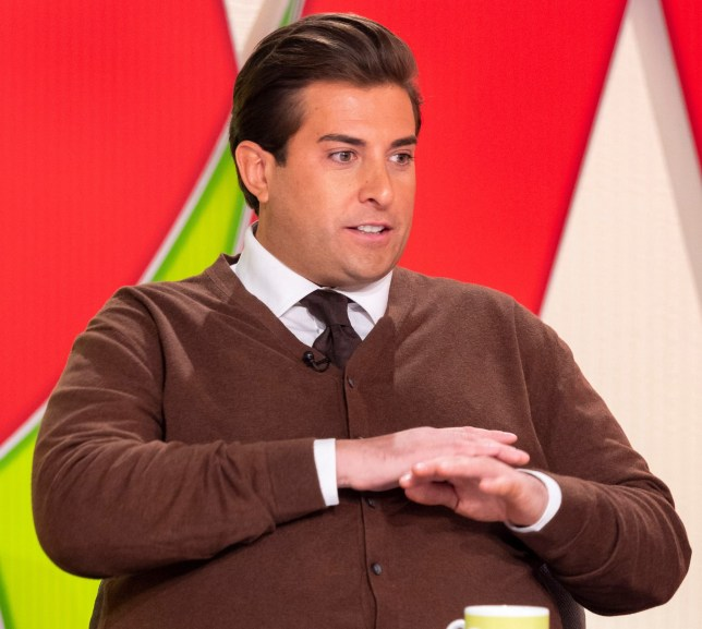 Editorial use only Mandatory Credit: Photo by Ken McKay/ITV/REX (9990105ck) James Argent 'Loose Women' TV show, London, UK - 22 Nov 2018 He?s a ?The Only Way Is Essex? (TOWIE) regular and ?Loose Women? favourite? it?s the return of Arg! He joins us today to explain his recent absence from ?TOWIE?, how he?s recovering after last month?s moped crash and why he?s finally feeling back on track after a tough time earlier this year. And, of course, he?ll be revealing just what?s going on with his on/off relationship with fellow ?TOWIE? star Gemma Collins and whether he thinks she?s up for the challenges to come as she prepares to star in ?Dancing On Ice?.