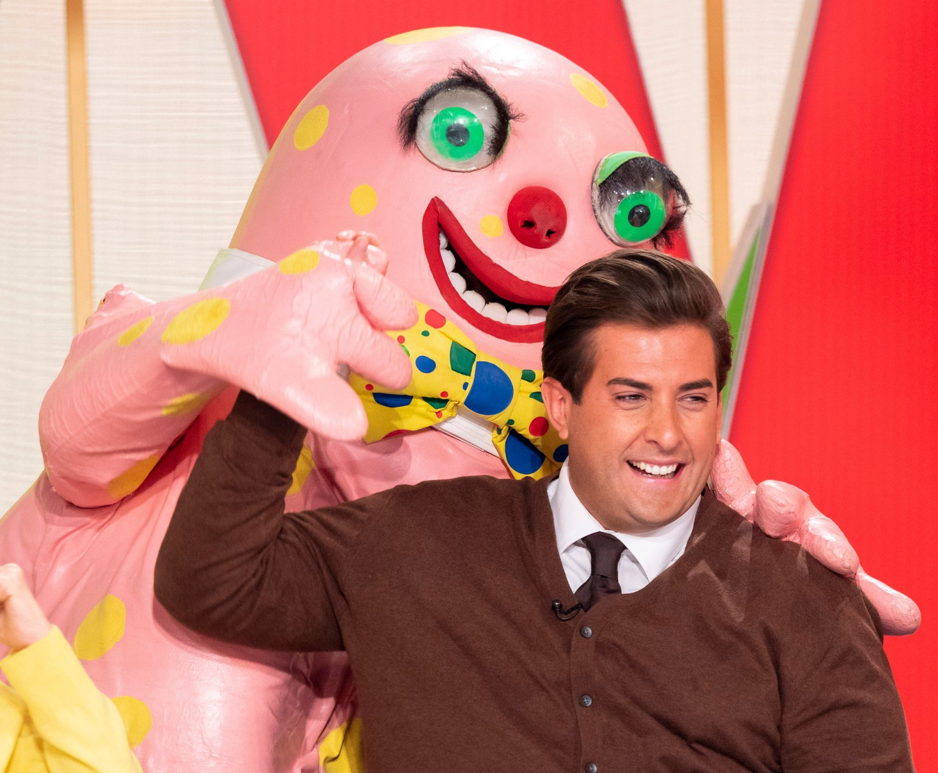 James Argent appears on Loose Women after girlfriend Gemma Collins slams 'bland and boring' show