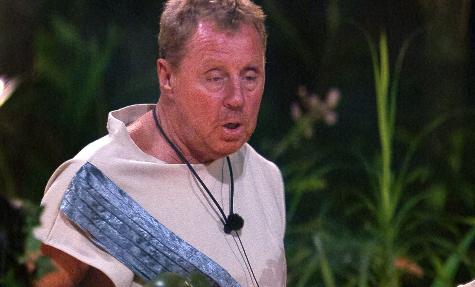 I'm A Celebrity's Fleur East asks Harry Redknapp who he'd like to 'rub off' and his reaction is priceless