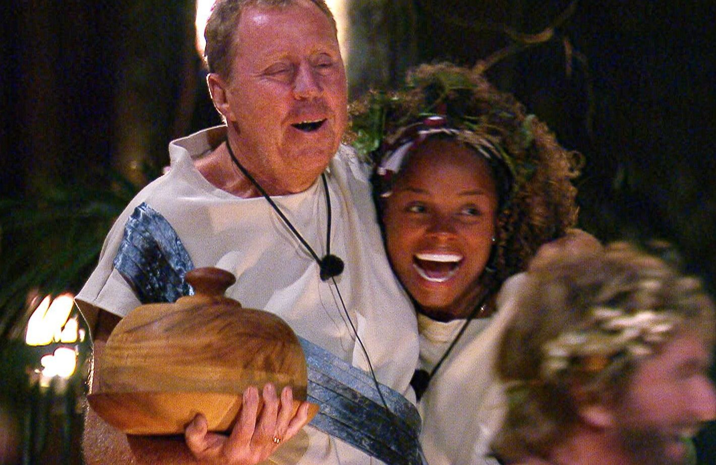STRICT EMBARGO - NOT TO BE USED BEFORE 22:30 GMT, 22 NOV 2018 - EDITORIAL USE ONLY Mandatory Credit: Photo by ITV/REX (9989883kh) Outbackius Shakius - Harry Redknapp and Fleur East 'I'm a Celebrity... Get Me Out of Here!' TV Show, Series 18, Australia - 22 Nov 2018