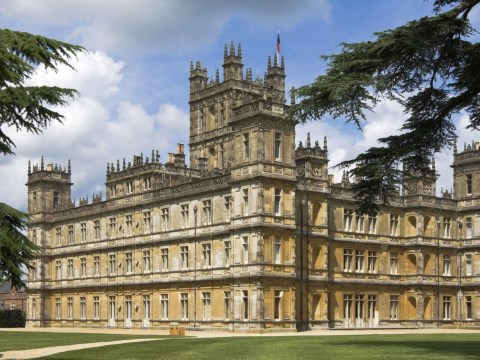 Where was the Downton Abbey movie filmed?