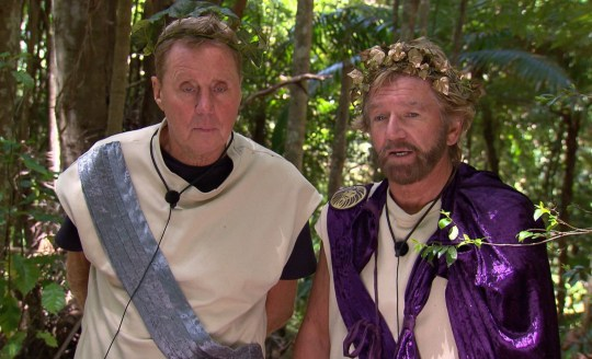 STRICT EMBARGO - NOT TO BE USED BEFORE 22:00 GMT, 23 NOV 2018 - EDITORIAL USE ONLY Mandatory Credit: Photo by ITV/REX (9991011fr) Pre-Trial - Harry Redknapp and Noel Edmonds 'I'm a Celebrity... Get Me Out of Here!' TV Show, Series 18, Australia - 23 Nov 2018