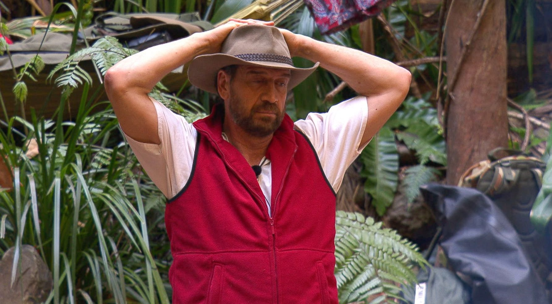 STRICT EMBARGO - NOT TO BE USED BEFORE 22:00 GMT, 23 NOV 2018 - EDITORIAL USE ONLY Mandatory Credit: Photo by ITV/REX (9991011gg) Nick Knowles 'I'm a Celebrity... Get Me Out of Here!' TV Show, Series 18, Australia - 23 Nov 2018