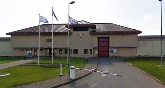 WESSEX NEWS AGENCY Jim Hardy email news@britishnews.co.uk mobile 07501 221880 STORY CATCHLINE: BUTTOCKS A lag looked astonished and assured prison guards that a four-inch-long mobile phone stuffed up his bottom had nothing to do with him. Pic shows HMP Bullingdon