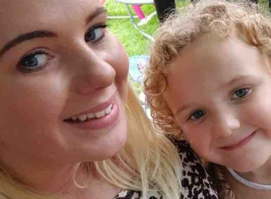 A mum who claims she was told by a doctor she didn?t need a second smear test is now battling cervical cancer. Steph Nally, 29, says she asked a GP for the test after suffering excruciating back pain on and off for four years. Caption: Steph Nally (left)