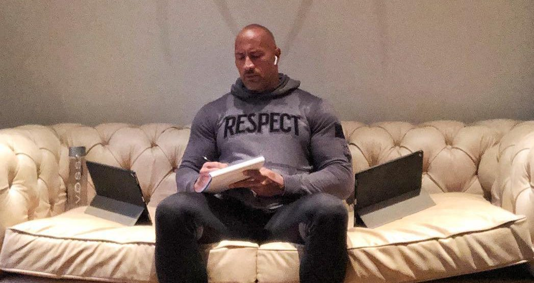 Dwayne Johnson teases mystery project he's been 'working on for years' in bizarre post
