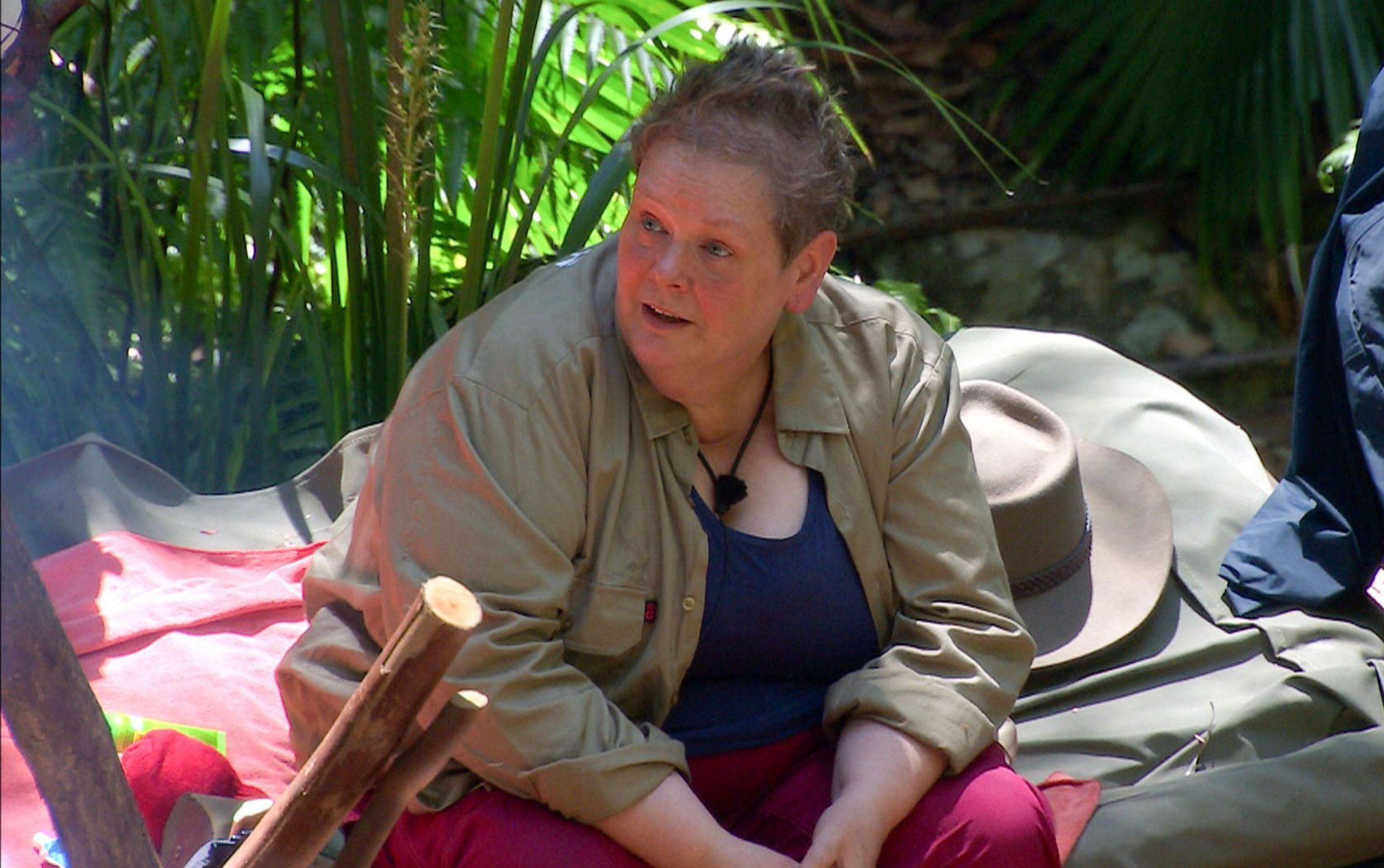 Anne Hegerty says a lot is cut out of I'm A Celebrity as she reveals her favourite campmate
