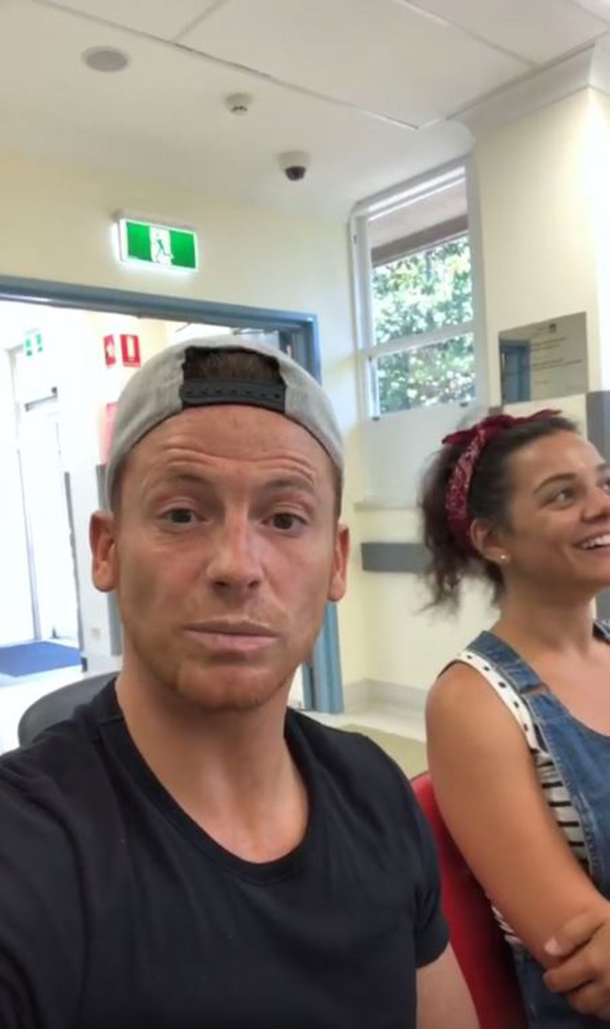 I?m A Celebrity ?.Extra Camp presenter Joe Swash was rushed to A&E after getting a cockroach stuck in his ear Joe Swash