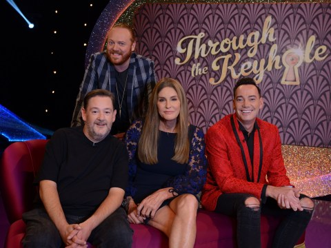 Caitlyn Jenner makes surprise appearance on Keith Lemon's Through The Keyhole for a peek at Dean Cain's home