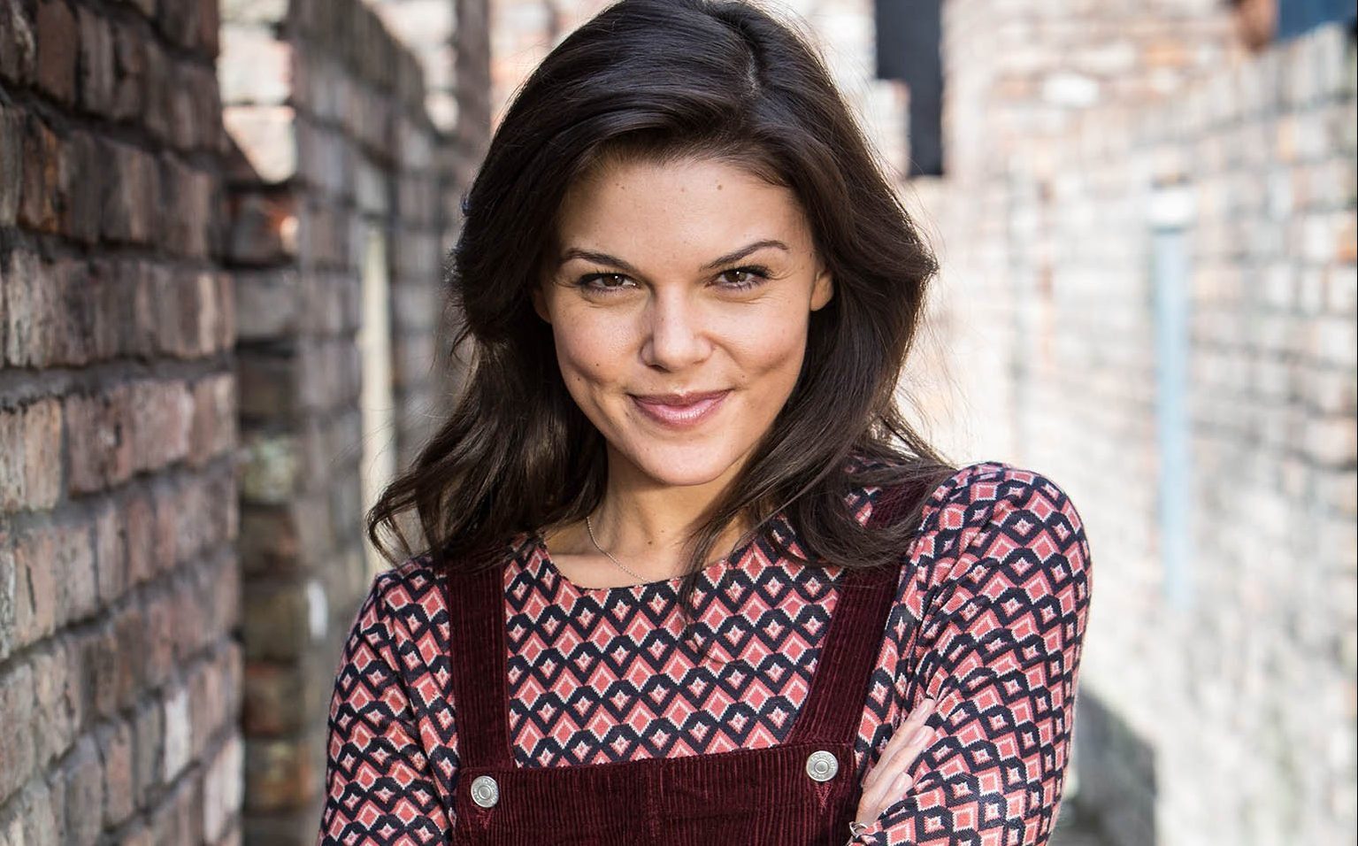 CORONATION STREET Faye Brookes plays Kate Connor Press contact David.Crook@itv.com This photograph is (C) ITV Plc and can only be reproduced for editorial purposes directly in connection with the programme or event mentioned above, or ITV. Once made available by ITV Plc Picture Desk, this photograph can be reproduced once only up until the TX date and no reproduction fee will be charged. Any subsequent usage may incur a fee. This photograph must not be syndicated to any other publication or website, or permanently archived, without the express written permission of ITV Plc Picture Desk. Full terms and conditions of use available at www.itvpictures.com