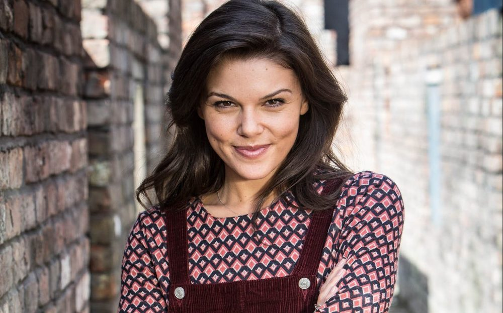 Faye Brookes as Kate Connor in Coronation Street