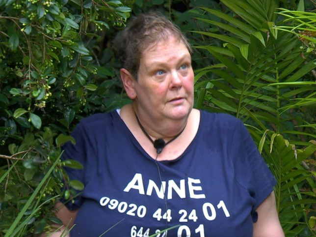 STRICT EMBARGO - NOT TO BE USED BEFORE 22:00 GMT, 27 NOV 2018 - EDITORIAL USE ONLY Mandatory Credit: Photo by ITV/REX (9994778aq) Bushtucker Trial: Hellish Hospital - Anne Hegerty 'I'm a Celebrity... Get Me Out of Here!' TV Show, Series 18, Australia - 27 Nov 2018