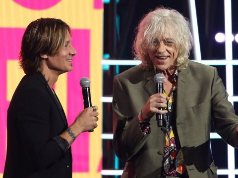 Bob Geldof and Keith Urban share super salty exchange as Boomtown Rat shades country rocker and calls him 'Jim'