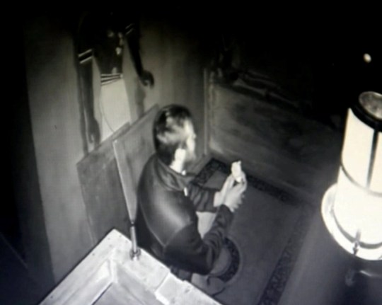 Video grab of the moment Martin Rooney,23, proposed to Emma Littler,25 after plating a note in an ?escape roomchallenge. See SWNS story SWCApropose.This is the heartwarming moment a man proposes to his unsuspecting girlfriend by planting a note in an 'escape room' challenge. Martin Rooney, 23, spent weeks meticulously preparing to pop the big question to his partner-of-three-years Emma Littler.Booking in a friend's name and sneaking there beforehand to put the note inside a box, he even got his sister to take Emma to get her nails done beforehand.And when she reached down, unfolded the message and began to read, he was waiting behind her on one knee.