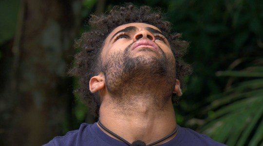 STRICT EMBARGO - NOT TO BE USED BEFORE 22:00 GMT, 28 NOV 2018 - EDITORIAL USE ONLY Mandatory Credit: Photo by ITV/REX (10001287ek) Bushtucker Trial: Dreaded Deliveries - Malique Thompson-Dwyer 'I'm a Celebrity... Get Me Out of Here!' TV Show, Series 18, Australia - 28 Nov 2018