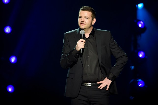 Kevin Bridges performing on stage at the Royal Albert Hall in London for the Teenage Cancer Trust annual concert series. Picture date: Wednesday March 29th, 2017. Photo credit should read: Matt Crossick/ EMPICS Entertainment.