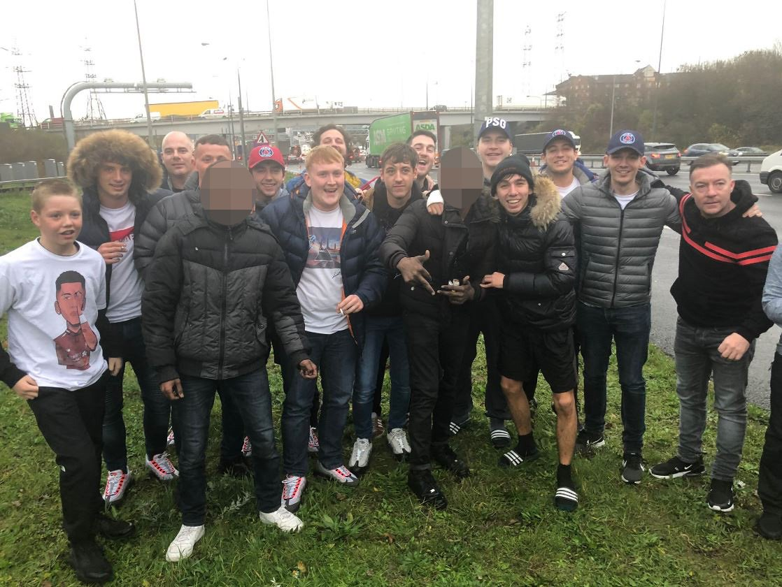'Asylum seekers' get a Scouse welcome after hiding in Liverpool fans' coach