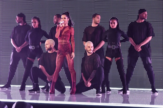 Cheryl performing during the filming of the Graham Norton Show at BBC Studioworks 6 Television Centre, Wood Lane, London, to be aired on BBC One on Friday evening. PRESS ASSOCIATION Photo. Picture date: Thursday November 29, 2018. Photo credit should read: PA Images on behalf of So TV
